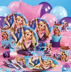 TANGLED BIRTHDAY PARTY!!!!!!!!!! Hey, note for anyone who knows me, when I turn 18, I want a suprise tangled party,