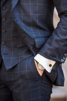 Shop custom luxury suits, shirts, outerwear and tuxedos. Perfect fits, quality craftsmanship, and personalized style advice from the comfort of your home. Gentleman Mode, Gentleman Style, Beard Suit, Suit Men, High Fashion, Mens Fashion, Business Fashion, Business Men, Clothing Company