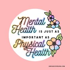 Mental health is just as important as physical health health quotes awareness Positive Mental Health, Mental Health Conditions, Mental And Emotional Health, Mental Health Matters, Mental Health Quotes, Fitness Humor, Fitness Life, Ptsd, Fitness Inspiration