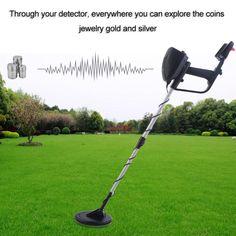 52.49$  Buy here - Metal Detector Portable Lightweight Underground Metal Detector Finder Metal Length Adjustable Under Shallow Water MD4030   #buyonline