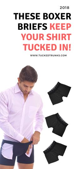 Tired of messy shirts? Tired of accessories that take forever to put on? Try your first #tuckedtrunks boxer briefs today and get an EXTRA 15% off any pack with code: PIN15 at checkout! #share #repin #boxerbriefs #menswear #suitup #mensuit #menstyle #styletips #style