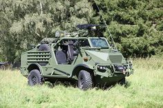 The vehicle comes with ballistic protection and a mine-protected underside. Image: courtesy of Krauss-Maffei Wegmann (KMW). - Image - Army Technology