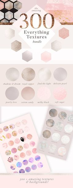 Huge Gold & Marble Texture Bundle by Laras Wonderland on @creativemarket