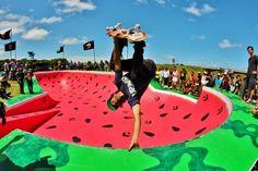 #rad #skatepark #watermelon #changinglines