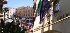 Astoria Hotel Italia  facciata storica con vista su piazza XX Settembre