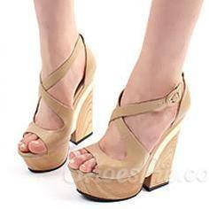 gotta have Shoespie Elegant Wedge Heel Sandals