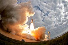Space Shuttle Endeavor Lift Off [Lon Seidman]