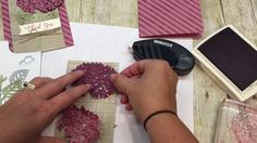 How to create a Hydrangea from the Thoughtful Branches Bundle - YouTube