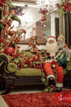 Navidad es tiempo de unión y Santa lo sabe muy bien 🎅❤️  www.fexton.com Xmas Tree, Christmas Tree Decorations, Christmas Wreaths, Christmas Crafts, Holiday Decor, Christmas 2019, Christmas Holidays, Merry Christmas, Mark Roberts Fairies