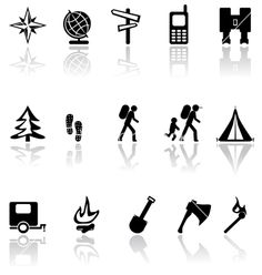 Black icons vector 13832 - by chen on VectorStock®