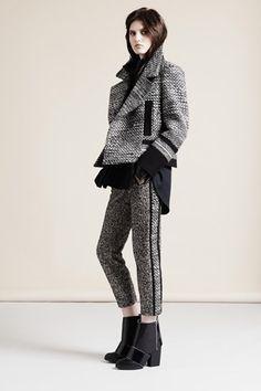 Nicole Farhi Otoño Invierno Pret-A-Porter - Pasarela Fashion Week, Love Fashion, Runway Fashion, High Fashion, Winter Fashion, Fashion Show, Fashion Outfits, Fashion Design, Grey Fashion