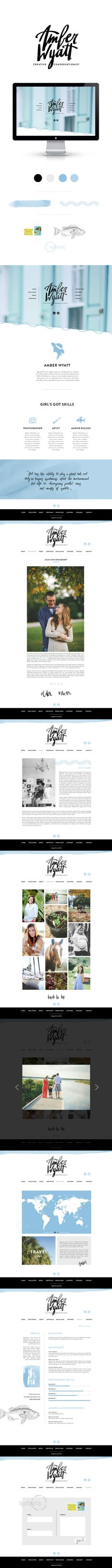 Website Redesigns - Cocorrina by Corina Nika