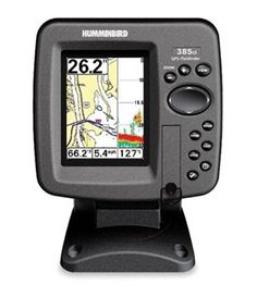 Humminbird Ci   Inch Waterproof Marine Gps And Chartplotter With Sounder Best Buy