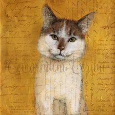 Printable Cat Art Cat Print Cat Poster Gift for Cat