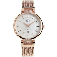 Alexandre Christie Passion Female Watch 2740LDBRGSL Stylish Watches, Casual Watches, Passion Watch, Smart Casual Women, Gold Watch, Accessories, Female Watches, Quality Watches, Denmark