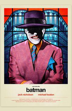Batman - movie poster - Van Orton Design