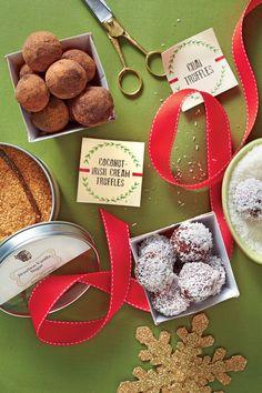Party-Perfect Truffles: Coconut-Irish Cream Truffles
