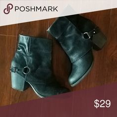 Fergalicious Booties Black EUC size 9.5 Worn only a few times. Fergalicious Shoes Ankle Boots & Booties