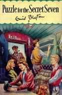 puzzle for the secret seven by enid blyton.hard cover with jacket 1965 Vintage Book Covers, Vintage Children's Books, Martin Luther, The Secret Seven, Enid Blyton Books, Affirmations, Streaming Tv Shows, Who Book, Graf