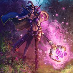 League of Legends ~ LeBlanc, Yutaka Li on ArtStation at http://www.artstation.com/artwork/league-of-legends-leblanc