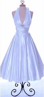 marilyn monroe type wedding dress - Google Search