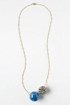 #Anthropologie #Evolution Ball Necklace