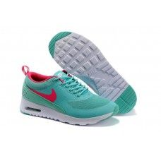 (e9mQFt)-Nike Air Max Thea Néo-Turquoise/Roses Chaussures Pour Femmes