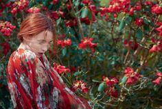 Audrey Marnay by Erik Madigan Heck, for Harper's Bazaar October 2015