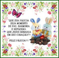 Cartão de Páscoa Beautiful Gif, Easter Crafts, Happy Easter, Easter Eggs, Cute Animals, Teddy Bear, Christmas Ornaments, Toys, Holiday Decor