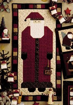 free christmas quilt patterns | Christmas Quilt/Applique Patterns Free