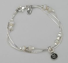 Classic SHABLOOL ISRAEL Didae Handcrafted Sterling Silver 925 Pearl Bracelet #Shablool #ChainorLink