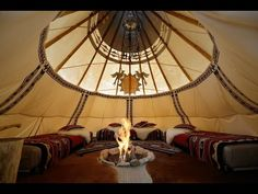 Inside The Tipi In 2019 Native American Teepee Yurt