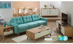 Discover the Retro furniture range from Fantastic Furniture - Fantastic Furniture at Crossroads Homemaker Centre