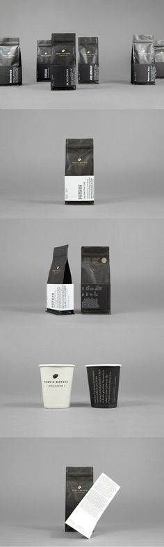 Toby's Estate. Coffee that tells story. (More design inspiration at www.aldenchong.com)