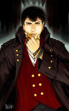 Mistborn - The Lord Ruler by Inkthinker on DeviantArt