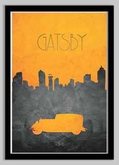 The Great Gatsby Movie Poster  11x17 by LynxCollection on Etsy, $16.95