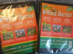 "All- Purpose Weed Barrier (4'x8'). 4' x 8' .1.22m x 2.44m. Color: Black. Environmentally safe. Lets air and water through to roots. Use in permanent planting beds, seasonal gardens, and around trees and shrubs during planting. Saves time from weeding. Dimensions: 15 - 9600 - 150 - 4800 - hundredths-inches. 48w96. Recommend medium size mulch cover of 3"" to 4"" to prevent ultraviolet light damage. Environmentally responsible. Stop weeds without chemicals."