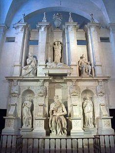 Rome-Basilique San Pietro in Vincoli-Moise Michelangelo Renaissance And Reformation, Italian Sculptors, High Renaissance, Moise, Art Antique, Sistine Chapel, Chef D Oeuvre, Great Artists, Architecture Sketches