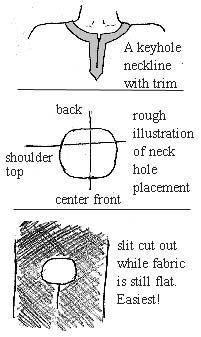Intro to basic garb with tunic instructructions.