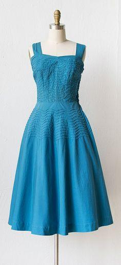 vintage 1940s sundress | 40s dress