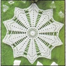 Free Crochet Doily Patterns - Karla's Making It Free Crochet Doily Patterns, Crochet Placemats, Crochet Flower Patterns, Crochet Diagram, Filet Crochet, Crochet Motif, Crochet Flowers, Crochet Dollies, Crochet Stars
