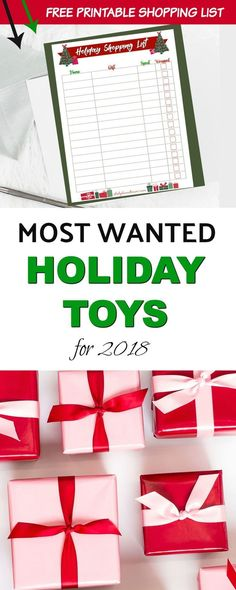 The Hottest and Most Wanted Holiday Toys this Christmas Season! These toys are already flying off the shelves! Be sure to get these newest, most popular toys before Black Friday! Most wanted holiday toys 2018. #toys #toptoys #christmas #christmasshopping