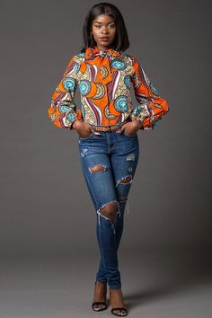 Chemise dashiki vêtements africains robe Dashiki robe par Laviye