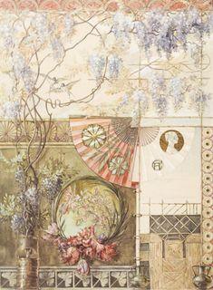 ART NOUVEAU: Patroon *Pattern ~Anton Seder~