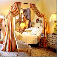Loire Canopy Bed--Mario Buatta