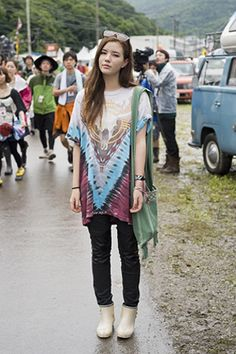 Fuji Rock Music Festival Fashion