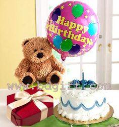 Send Bear Cake Birthday Balloon Chocolate To Bangladesh