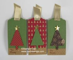 Quickie Christmas Tags