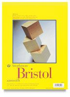 Strathmore 300 Series Bristol Board Pads for pencil, ink, pastels and watercolors