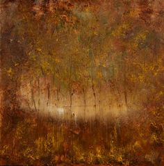 """Саатчи Искусство Исполнитель Морис Шапиро;  Живопись, """"Доброе утро, в лес"""" #art"""